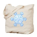 Flurry Snowflake XI Tote Bag