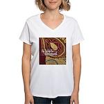 Crafts - Embellishment Women's V-Neck T-Shirt