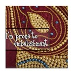 Crafts - Embellishment Tile Coaster