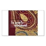 Crafts - Embellishment Rectangle Sticker 50 pk)