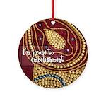 Crafts - Embellishment Ornament (Round)
