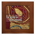 Crafts - Embellishment Framed Tile
