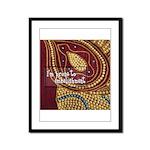 Crafts - Embellishment Framed Panel Print