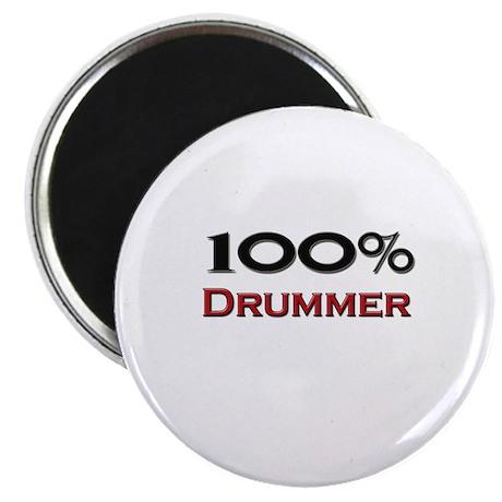 100 Percent Drummer Magnet