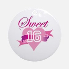 Sweet Sixteen! Ornament (Round)