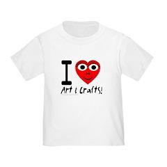 I (Heart) Art & Crafts T