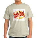 Daddy Duty Ash Grey T-Shirt