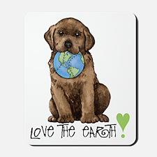 Earth Day Labrador Mousepad