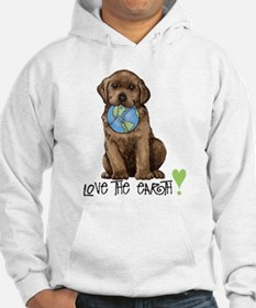 Earth Day Labrador Hoodie