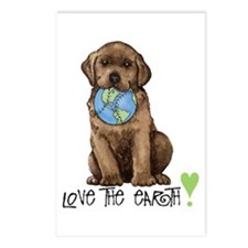 Earth Day Labrador Postcards (Package of 8)