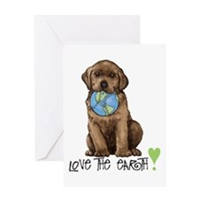 Earth Day Labrador Greeting Card