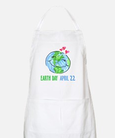 Earth Day April 22 BBQ Apron
