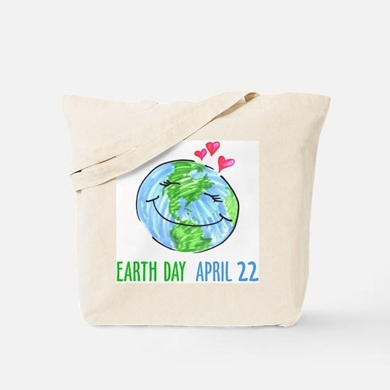 Earth Day April 22 Tote Bag