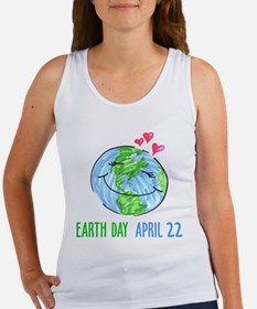 Earth Day April 22 Women's Tank Top