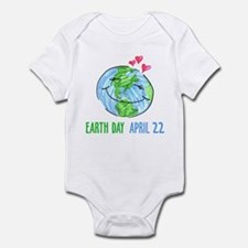 Earth Day April 22 Infant Bodysuit
