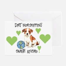 Earth Day Parson Russell Greeting Card
