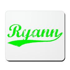 Vintage Ryann (Green) Mousepad