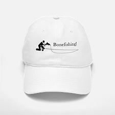 """Bonefishing!"" Baseball Baseball Cap"