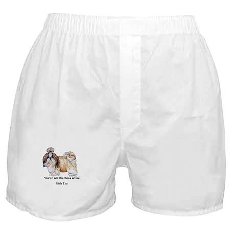 Shih Tzu is Boss Boxer Shorts