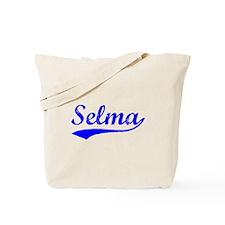 Vintage Selma (Blue) Tote Bag
