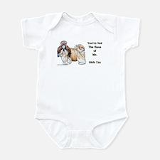 Shih Tzu is Boss Infant Bodysuit