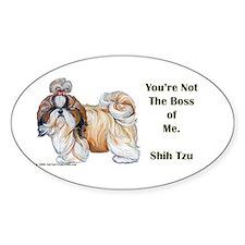 Shih Tzu is Boss Decal