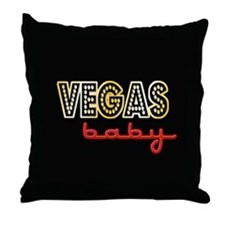 Vegas Baby Throw Pillow