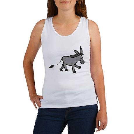 Cute Donkey Women's Tank Top