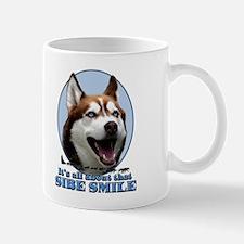 Red Sibe Smile Mug