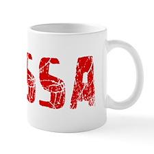 Elyssa Faded (Red) Mug