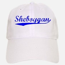 Vintage Sheboygan (Blue) Baseball Baseball Cap