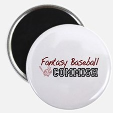 Fantasy Baseball Commish Magnet