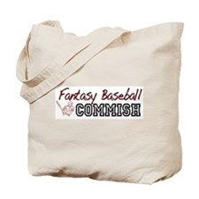 Fantasy Baseball Commish Tote Bag