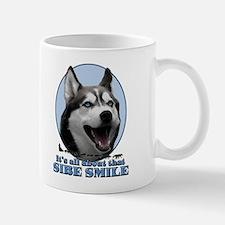 Gray Sibe Smile Small Small Mug