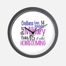MILITARY HAS 15 Wall Clock