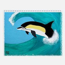 Common Dolphin Wall Calendar