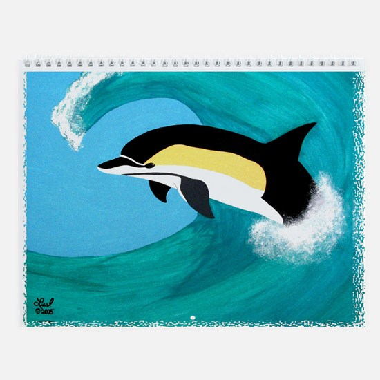 Common Dolphin Wall Calendar