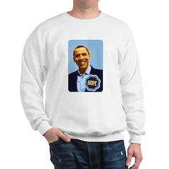 Barack Obama Hope Sweatshirt