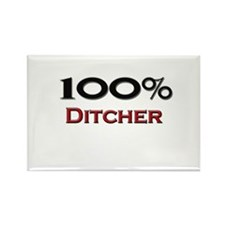 100 Percent Ditcher Rectangle Magnet