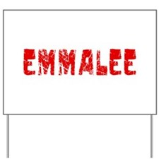 Emmalee Faded (Red) Yard Sign