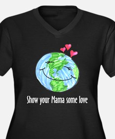 show your mama some love Women's Plus Size V-Neck