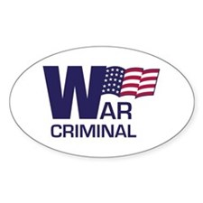 War Criminal Decal