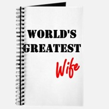 World's Greatest Wife Journal