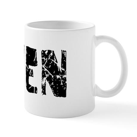 Gaven Faded (Black) Mug
