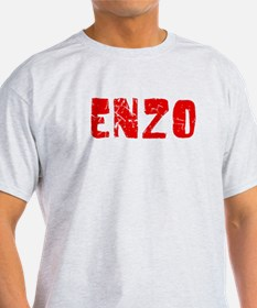 Enzo Faded (Red) T-Shirt