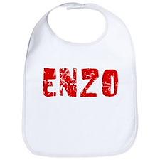 Enzo Faded (Red) Bib