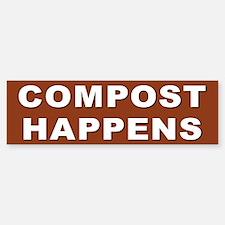COMPOST Bumper Bumper Stickers