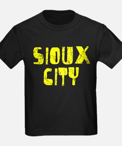 Sioux City Faded (Gold) T