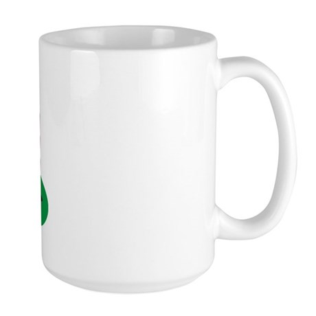 It's in the Hole Large Coffee Mug