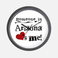 Someone in Arizona Wall Clock